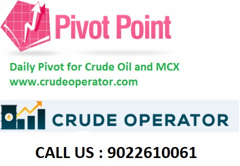 MCX Daily Pivot Points Calculator - Crude Operator