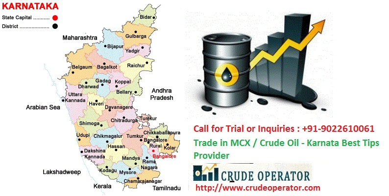 Best Crude Oil MCX Commodity Tips Provider In Bangalore Karnataka