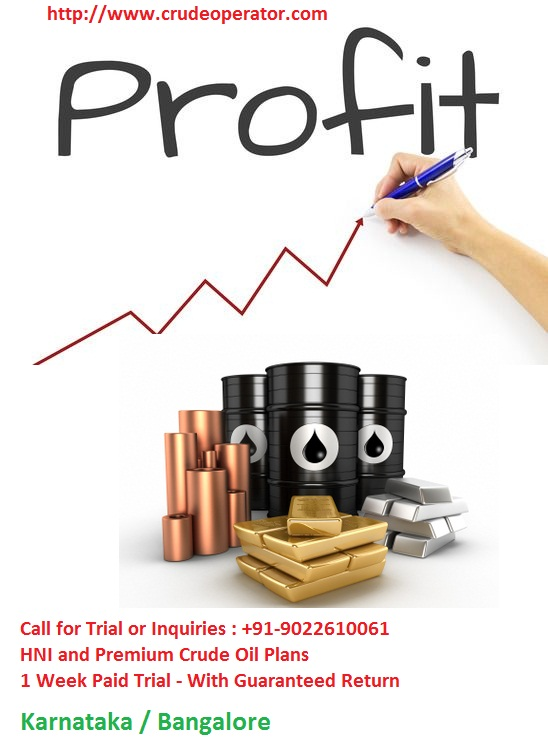 Earn Crude Oil Tips - Free Best Advisory Karnataka Bangalore