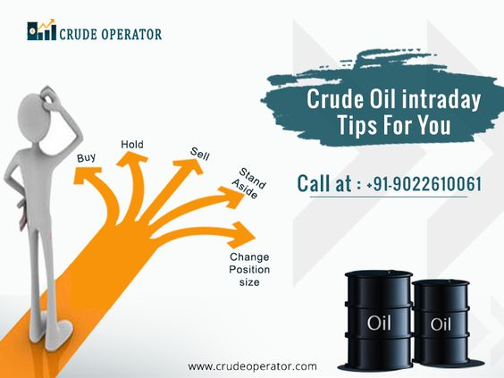 MCX CRUDE OIL INTRADAY TIPS PROVIDER - CRUDE OPERATOR